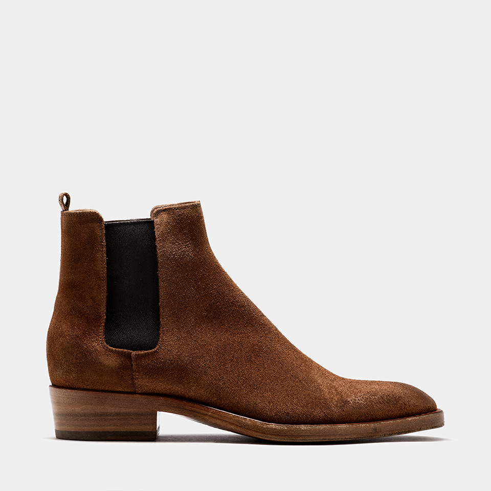 BUTTERO: TERRA SUEDE QUENTIN BOOTS