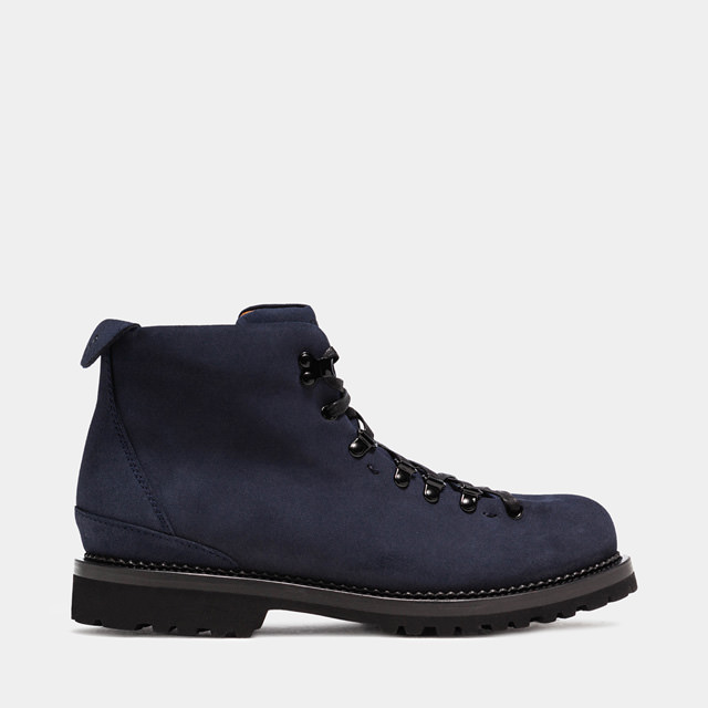 BUTTERO: CANALONE HIKING BOOTS IN BLUE SUEDE (B6601TREK-UG1/08)
