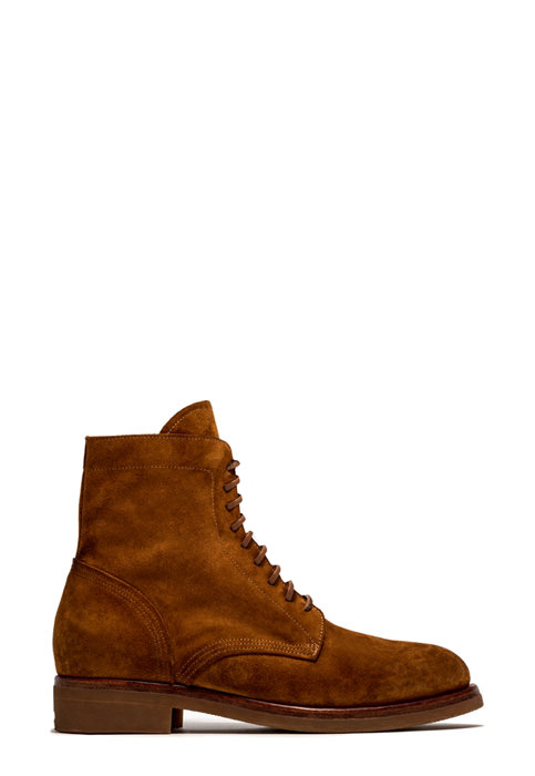 BUTTERO: TOM ANKLE BOOTS IN LIGHT BROWN SUEDE (B9160GORH-UG1/18)