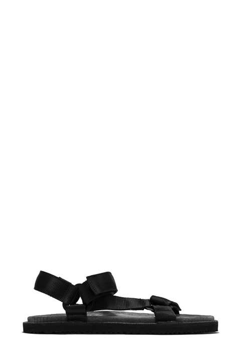BUTTERO: EL FUSO SANDALS IN TAUPE GRAY SUEDE (B8873VARE-UG1/E)