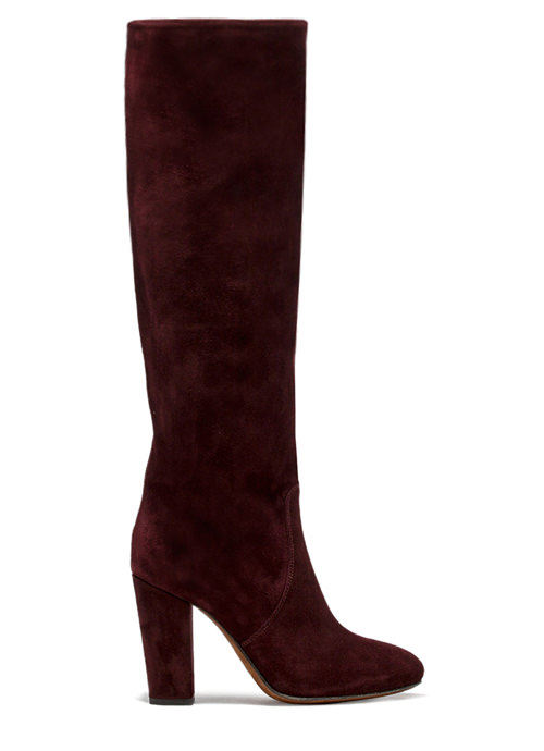 BUTTERO: AMARONE SUEDE  SOHO HIGH TOP BOOTS