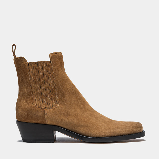 BUTTERO: DALTON BOOTS IN COLOR COPPER SUEDE (B9410LIG-DC1/13)