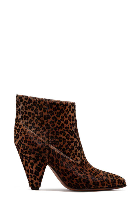 BUTTERO: ROSE LOW TOP BOOTS IN SPOTTED PONY SKIN (B8633CAVA-DG1/05)