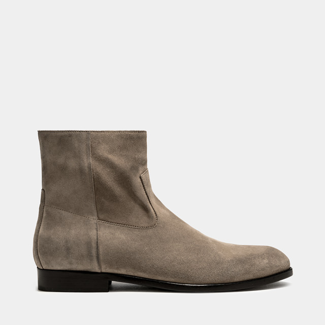 BUTTERO: FLOYD BOOTS IN ANTELOPE SUEDE  (B9170GORH-UC1/96)