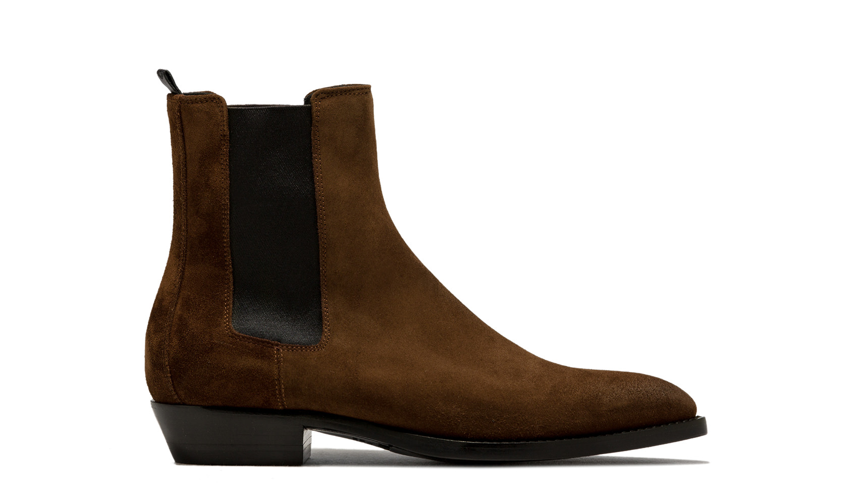 BUTTERO: SNUFF BROWN SUEDE FARGO ANKLE BOOTS