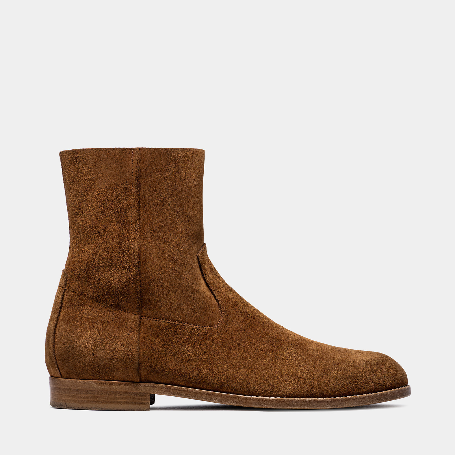 BUTTERO: TERRA SUEDE FLOYD ANKLE BOOTS