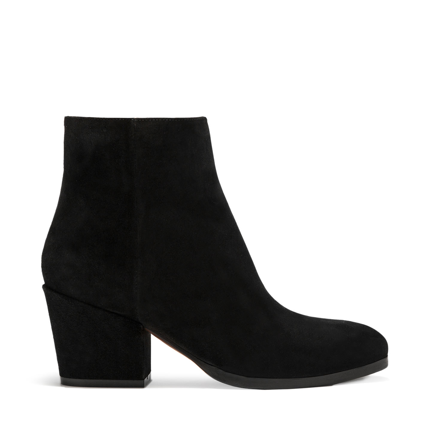 BUTTERO: BLACK SUEDE NEW YORK LOW TOP BOOTS